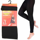 Ladies Heatguard black thermal leggings 140 denier 0.5 tog rating SK134