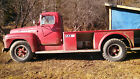 International Harvester: Other fire truck FARM FRESH 1954 International Harvester R-176 Fire Truck flatbed flat bed R-170