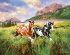 Mountain Stroll Horse Pony Gallup Valley Sunsout Jigsaw Puzzle 100 Pieces