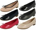 Femmes leather clarks ballerines style COUTURE BLOOM
