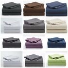 Chezmoi Collection Wrinkle Resistance Brushed Microfiber Sheet Set Solid /Stripe