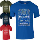Made in 1957 T-Shirt Born 61st Year Birthday Age Present Vintage Funny Mens Gift