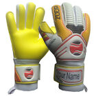 Goalkeeper Goalie Hybrid Roll+Neg Finger Saver Gloves Size 8/9/10