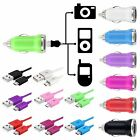 Car Charger+6FT Micro USB Cable For Samsung HTC Motorola Cellphone Tablet