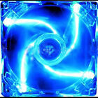 New 4Pin DC 12V 80mm /120mm Blue LED Light CPU PC Computer Cooling Case Fan cjk