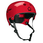 Pro-tec Old School Wake Watersports Canoe Helmet, XS to XL, Gloss Red. 60730