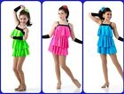 Covergirls Dance Costume Tap Jazz Dress Rose Ice Skating Ballet Child and Adult
