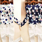 Fashion New Summer Womens Long Sleeve Crew Neck T-Shirt Ladies Casual Top Blouse