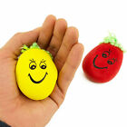 Mini Smiley Face Stress Ball Squeeze BallHand Exercise Occupational Therapy Lot
