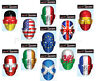 More images of Country Flag Face Mask Printed Card Fancy Dress Official Flag Face Masks