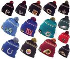 New Era NFL Logo Crisp Skully Winter Beanie Cuff Knit Authentic Original Hat Cap $8.47 USD on eBay