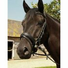Heritage Comfort Bridle - English Leather + Rubber Reins - Choose Size & Colour