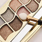 Fashion 12 Colors Pro Eyeshadow Shimmer Palette & Cosmetic Brush Makeup Set
