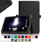 Sprint Slate 8 Inch (AQT80) 4G LTE Tablet Leather Case Cover with Stylus Holder