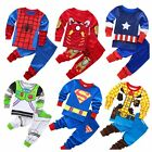 New Toddler  boy super hero printed Pyjama sleepware size2.3.4.5.6.7yrs