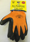 BRAND NEW NITRILE WORK GRIP GLOVES GARDENING BUILDERS CONSTRUCTION SAFETY LAB