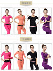 Spring summer fashion tideway yoga clothes sexy slim long-sleeved clothes