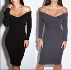 Fashion tideway strapless dress sexy v-neck long sleeve dresses in the party