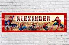 Personalized Spiderman 2 Name Poster with Paper Border Mat Art Wall Decor Banner