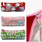 JAPAN SANRIO MY MELODY LITTLE TWINS STAR KEROPP PU PENCIL CASE ZIPPER BAG