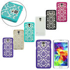 Mandala Flower Henna Floral Hard Case For Samsung Galaxy S5 G900 i9600 Reliable