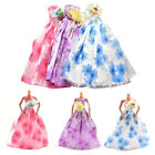 1 Pcs Fashion Wedding Dress for Barbies Best Gift for Doll Accessories X2
