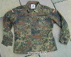 GERMAN ARMY SURPLUS ISSUE GRADE 1 FLECKTARN CAMOUFLAGE COMBAT SHIRTS, COTTON DPM
