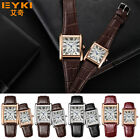 EYKI Womens Mens Quartz Leather Wristwatch Business Fashion Luxury Retro Watch