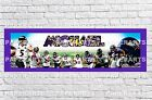Personalized Baltimore Ravens Name Poster with Border Mat Wall Painting Banner $16.0 USD on eBay