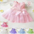 Princess Girls Party Dress Lace Wedding Dress Infant Toddler Sundress Clothing