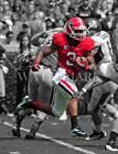BL415 Todd Gurley Bulldogs Rushes With The Football 8x10 11x14 Spotlight Photo