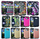 Armor Shock Proof Hybrid Silicone Cover Case for Samsung Galaxy J1