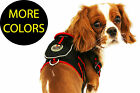 Fashion Designer Reflective Mesh Pet Dog Harness w/ Built-in Pouch