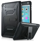 Shockproof Heavy Duty Rubber With Hard Stand Case Cover For Apple iPad Mini 4
