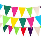 Fabric+Outdoor+Garden+Bunting+in+Choice+of+Colours+Patio+Decor+Water+Resistant