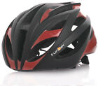 Funkier Tejat Road Elite Helmet in Black/Coral