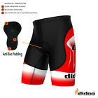 New Mens Pro Cycling Boxer Coolmax® Padded Tight Fit Shorts Sportswear Gym Pants
