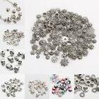 Wholesale 45g Silver Plated Loose Spacer Beads Charms Findings For Jewelry DIY