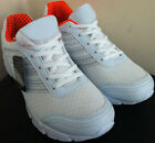 LADIES TRAINERS WHITE CUSHION JODIE SPORTS GYM JOGGING RUNNING GIRLS SIZE 3-8