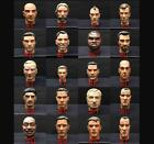 "12"" 1/6 Scale WWII Sculpt Head FOR 12"" Action Figure WWII Military Soldiers Body"