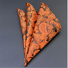Men Pocket Square Handkerchief Satin Solid Floral Paisley Floral Hanky Party Lot <br/> TRS Seller&radic; High Quality&radic; Ships Within 24 Hours&radic; Hot!!