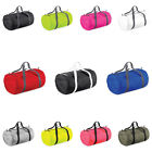 New BAGBASE Packaway Barrel Holdall Bag in 6 Colours One Size