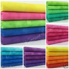 Blender fat quarter bundles -  rainbow shades 100% cotton fabric 5 FQ per bundle