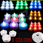 LED Flickering FLAMELESS Battery Operated Tea Lights Candles High quality