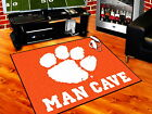 Clemson Tigers Man Cave Area Rug Choose from 4 Sizes