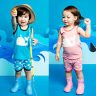 "Vaenait Baby Toddler Kids Girls Boys Sleeveless Outfit set ""Bobo Dolphin"" 12M-7T"