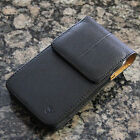 Cellphone PU Leather Pouch/Case/Cover w Belt Clip for Samsung Phone