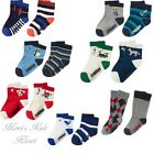 Gymboree Boys Socks 2-Pk-Away We Go,Fun At Heart,Anchors Away & More 12-24M