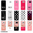 Kyпить INITIALS PERSONALISED HARD BACK PHONE CASE COVER FOR SAMSUNG GALAXY 4 5 6 7 EDGE на еВаy.соm