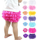 Cute Newborn Baby Infant Girl's Ruffle Lace Bloomers Diaper Nappy Cover Pants